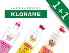 Klorane 1+1