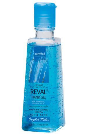 Intermed Reval Plus Crystal Water Antiseptic Hand Gel 100ml