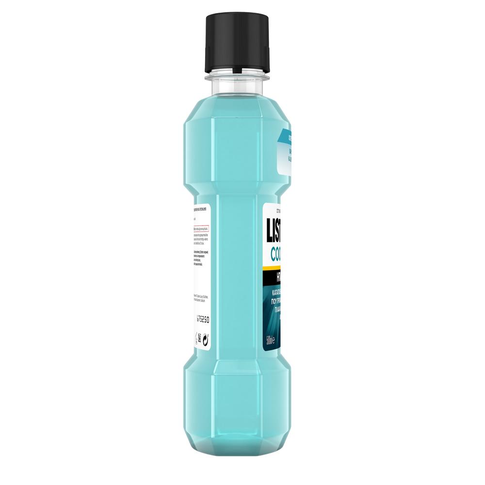 LISTERINE® Cool Mint Στοματικό Διάλυμα με ήπια γεύση 500ml