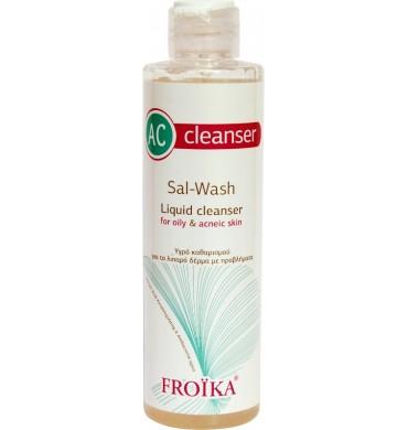 FROIKA AC Liquid Cleanser Sal Wash 200ml