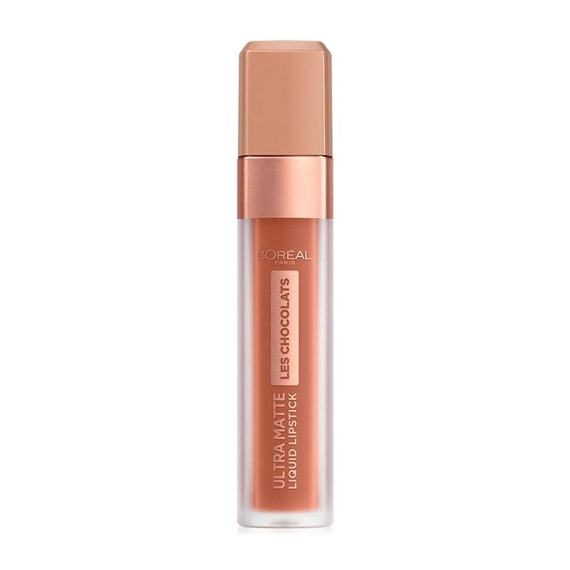 LOreal Paris Les Chocolates Ultra Matte Liquid Lipstick 862 Volupto Choco 7.6ml
