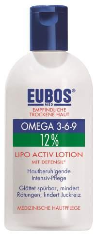 EUBOS OMEGA 3-6-9 LIPO ACTIV LOTION ΜE DEFENSIL® 12% 200ml