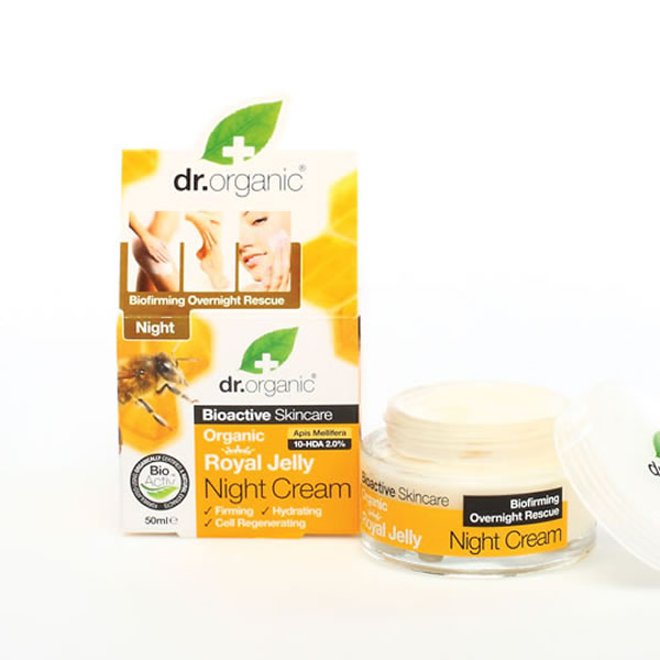 DR.ORGANIC ROYAL JELLY NIGHT CREAM 50ML