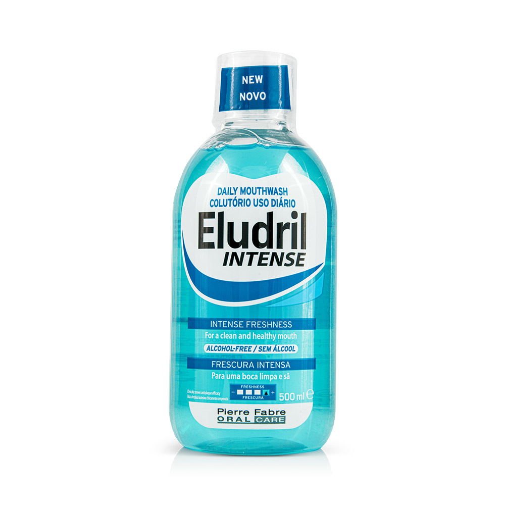 Elgydium Eludril Intense Daily Mouthwash 500ml
