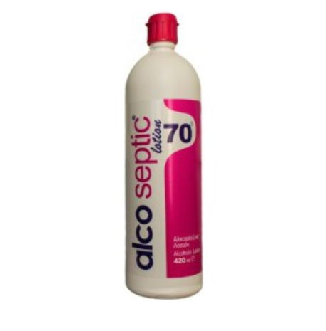 ASEPTA Alcoseptic lotion70 Αλκοολούχος Λοσιόν 420ml