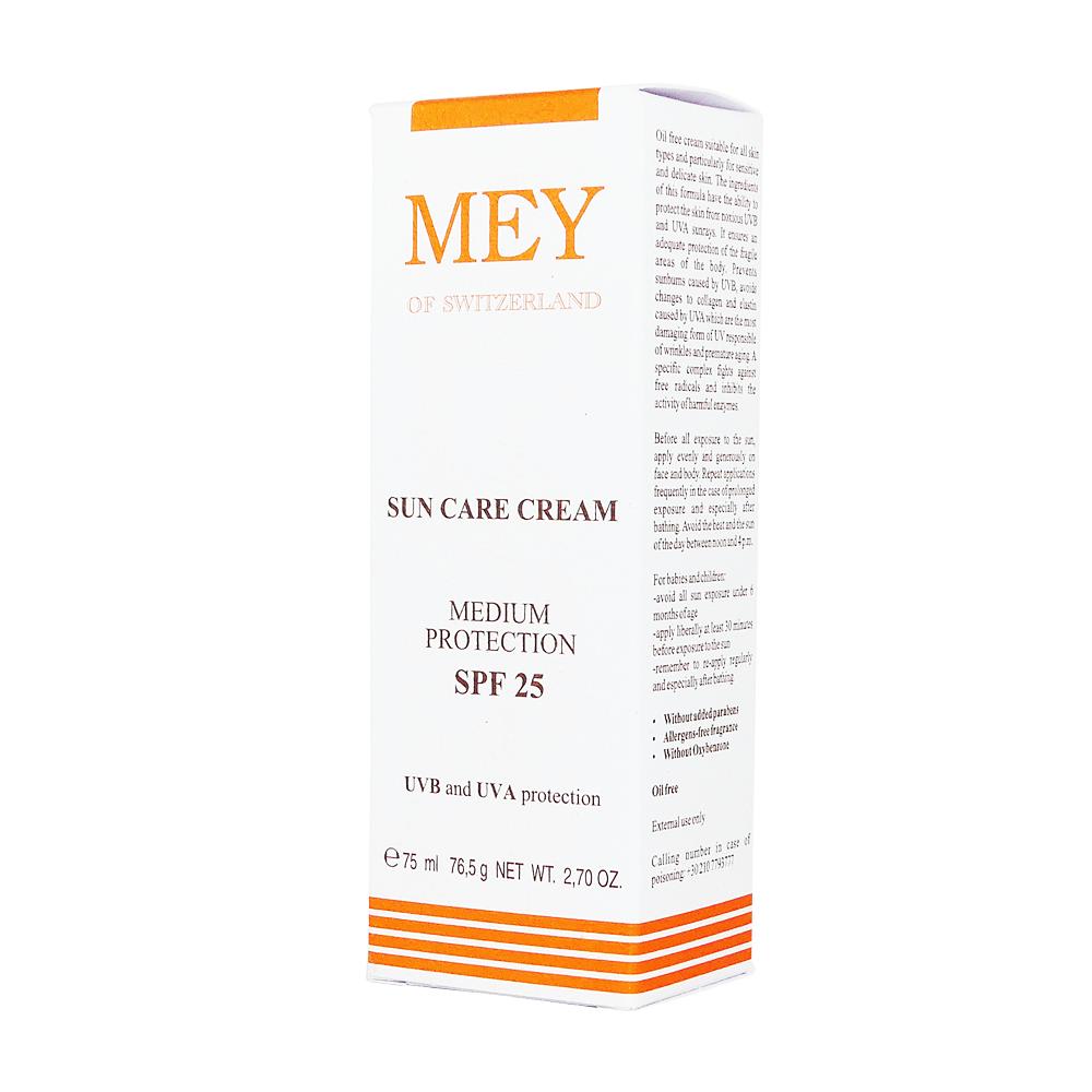 Mey Sun Care Protection Cream SPF 25+ 75ml