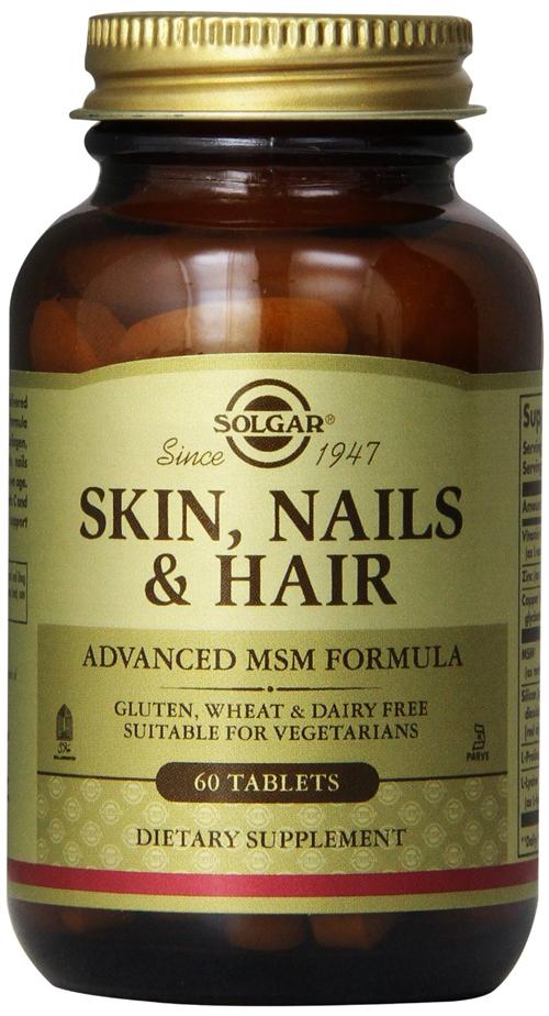 SOLGAR SKIN NAILS AND HAIR FORMULA 60TAB