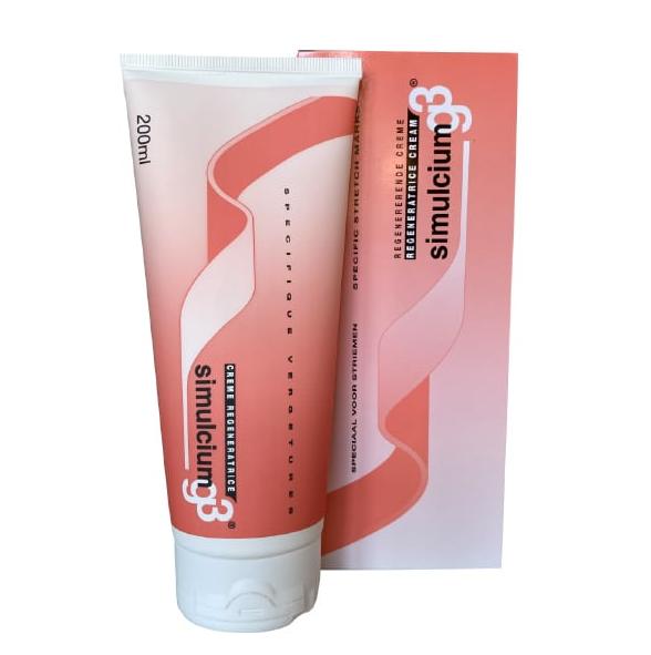 Inpa Gandour Simulcium G3 Κρέμα Σώματος για Πρόληψη & Αντιμετώπιση Ραγάδων 200ml