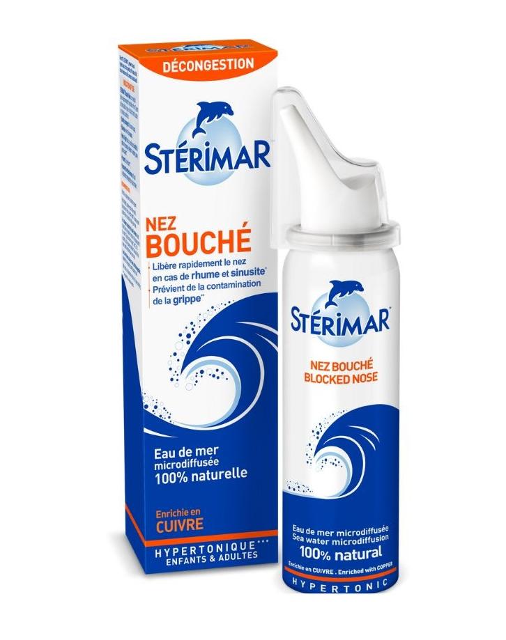 Sterimar Blocked Nose Ρινικό Αποσυμφορητικό 100ml