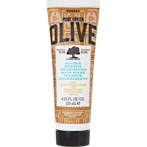 KORRES Pure Greek Olive Ενυδατική Μάσκα Μαλλίων με Παρθένο Ελαιόλαδο 125ml