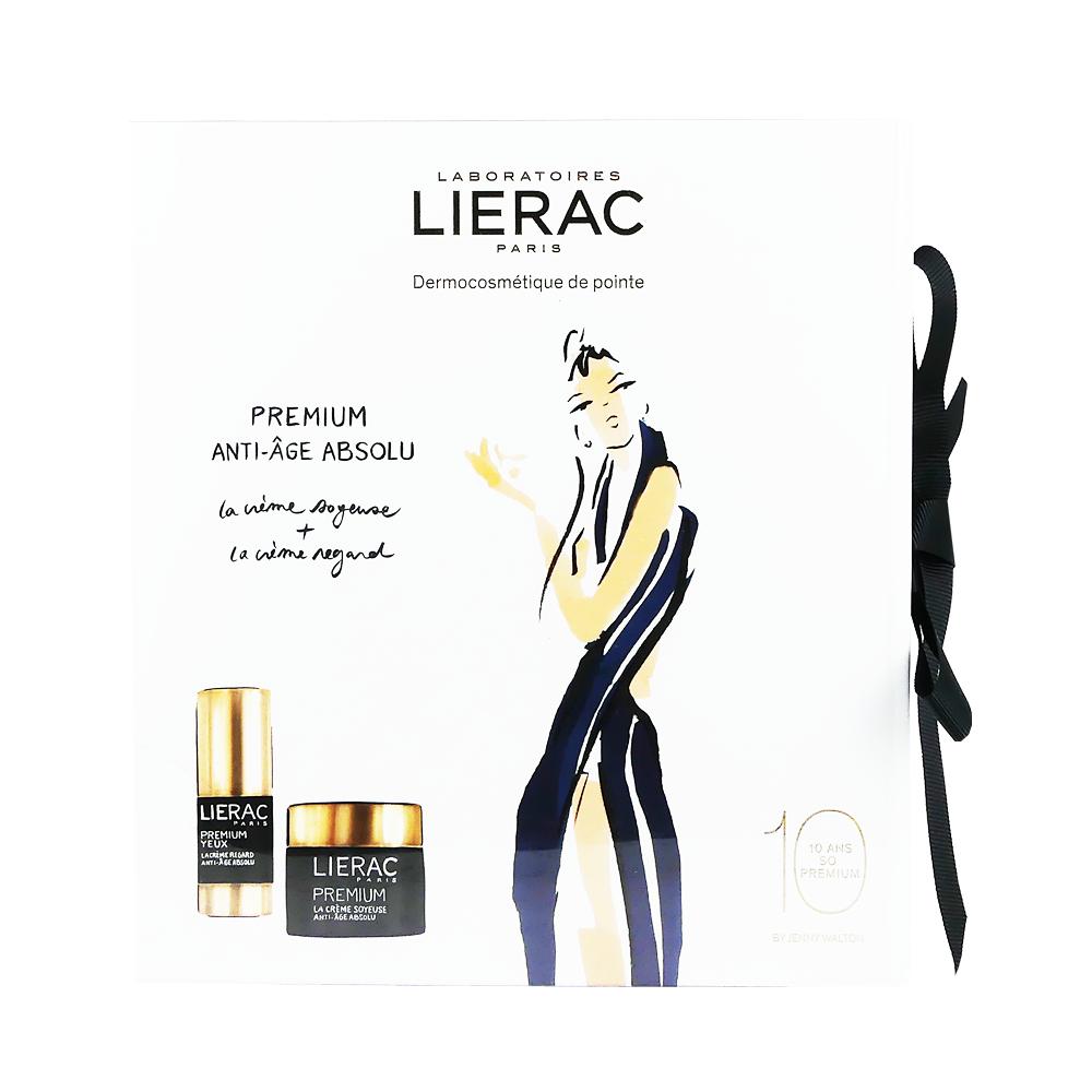 Lierac Set Premium La Creme Voluptueouse Texture Originelle Jour & Nuit 50ml + Premium Yeux La Creme Regard 15ml