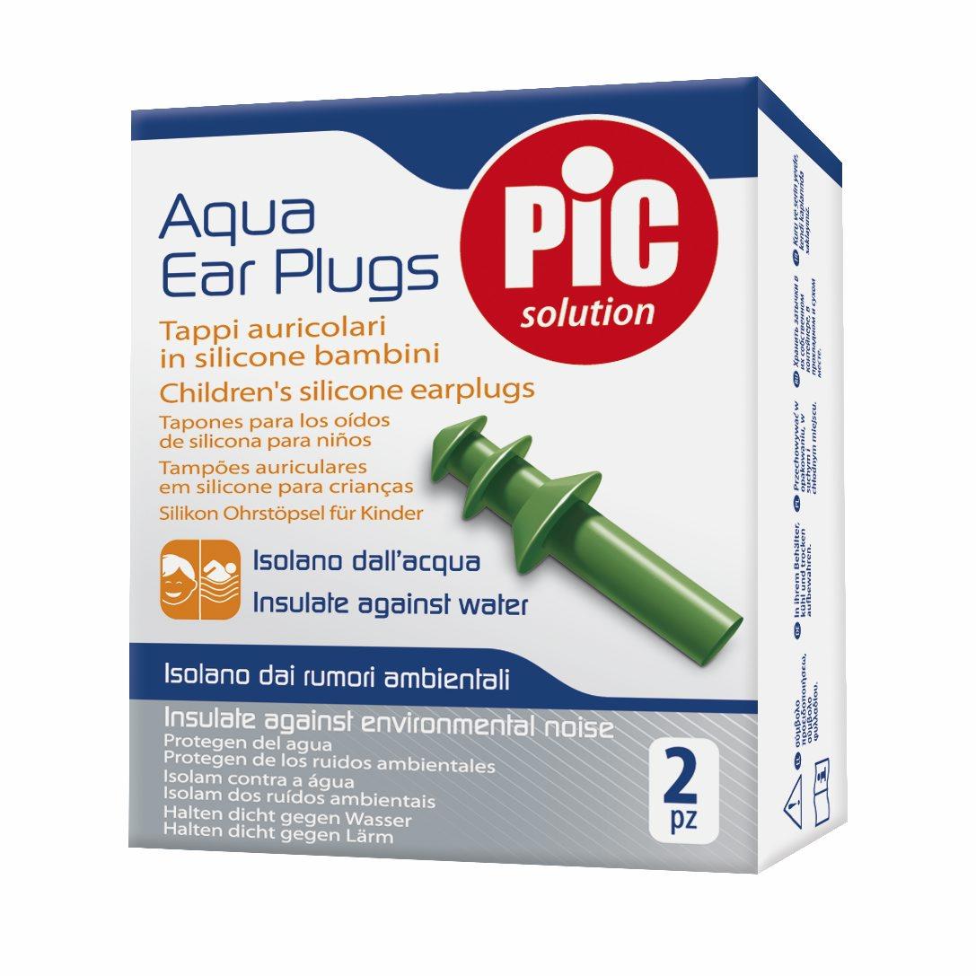 Pic Solution Aqua Ear Plugs Παιδικές Ωτοασπίδες Σιλικόνης 2τμχ