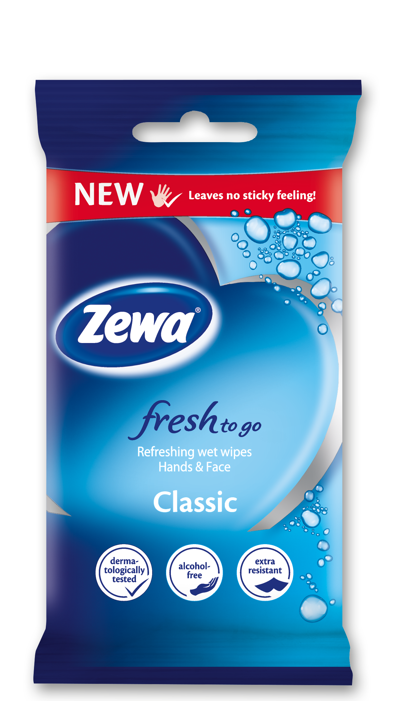 Zewa Fresh to Go Classic Υγρά Μαντηλάκια 10τμχ