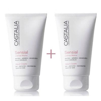 Castalia Sensial Crème Mains 75ml 1+1