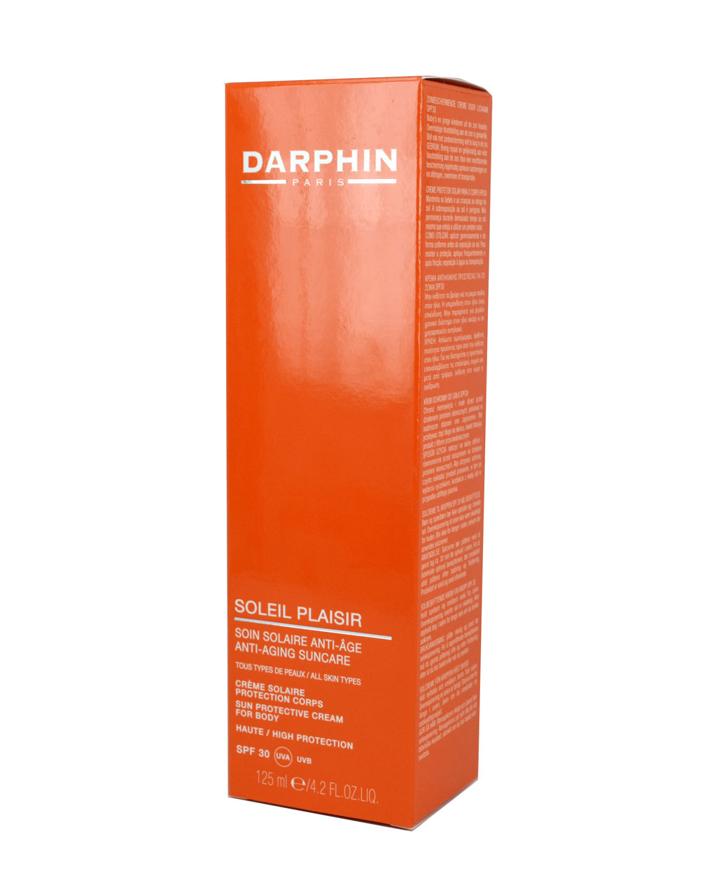 Darphin Soleil Plaisir Suncare Protective Cream for body SPF30 125 ml