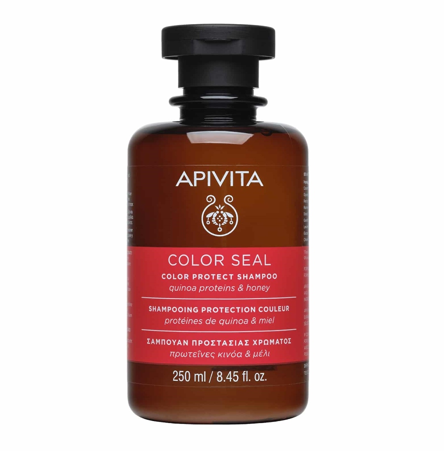 Apivita Σαμπουάν Προστασίας Χρώματος Πρωτεΐνες Κινόα & Μέλι 250ml