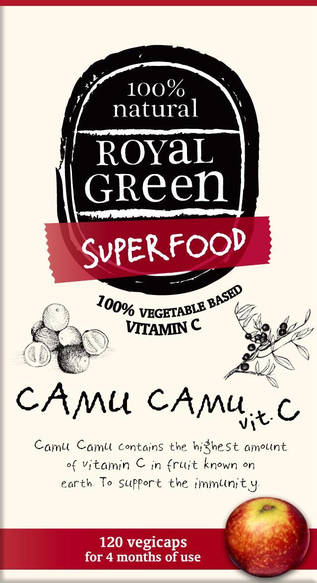 AM HEALTH ROYAL GREEN CAMU CAMU (VIT.C) 60CAPS