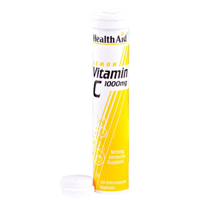 Health Aid Vitamin C 1000mg - LEMON