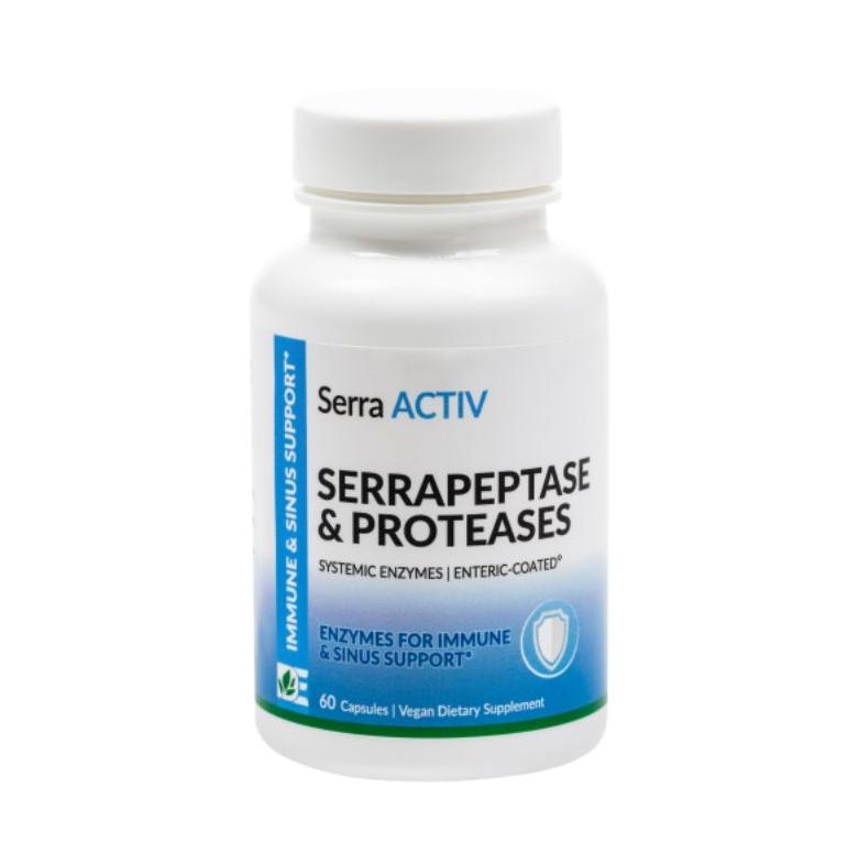 AM HEALTH DYNAMIC ENZYMES SERRA ACTIV 60caps