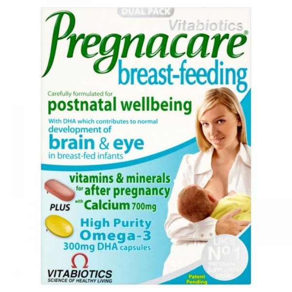 VITABIOTICS PREGNACARE BREAST-FEEDING 56TABS/28CAPS