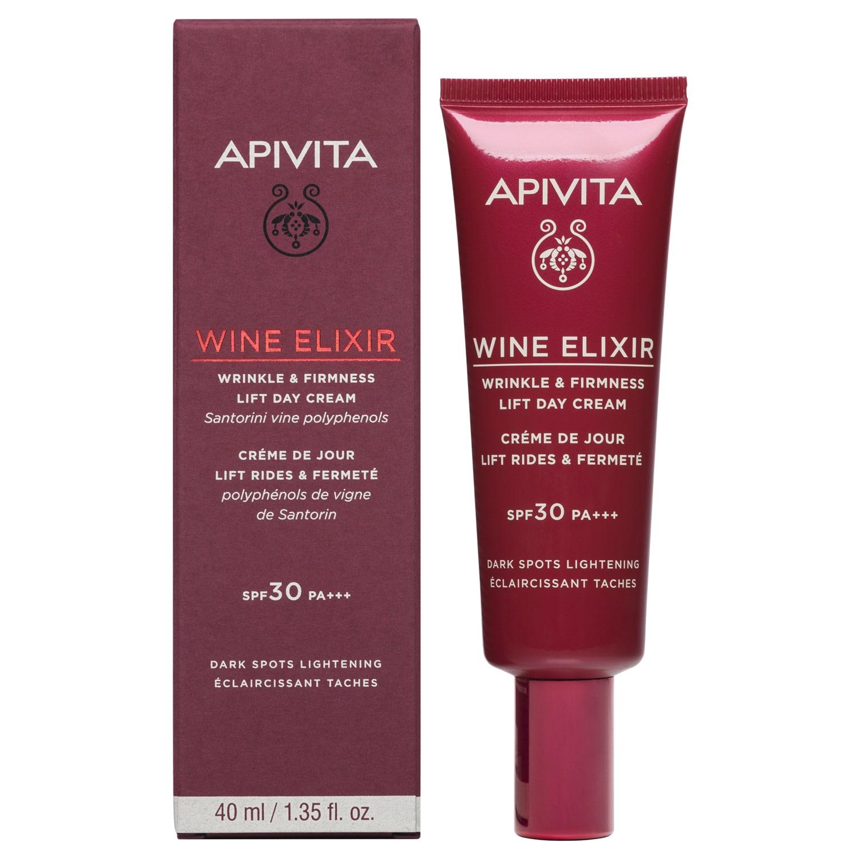 Apivita Wine Elixir SPF30 Αντιρυτιδική Κρέμα Ημέρας για Σύσφιξη & Lifting 40ml