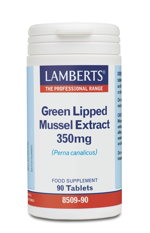 LAMBERTS GREEN LIPPED MUSSEL 350MG 90TABS