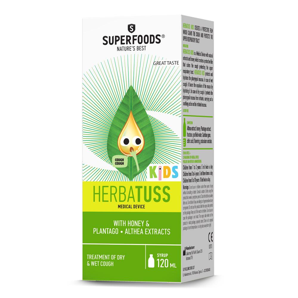 Superfoods Herbatuss Kids Syrup 120ml