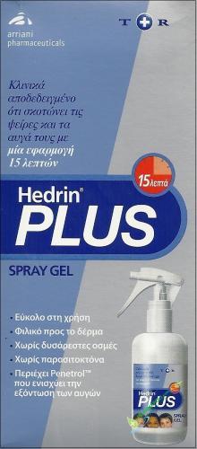 Hedrin Plus Spray Gel 100ml
