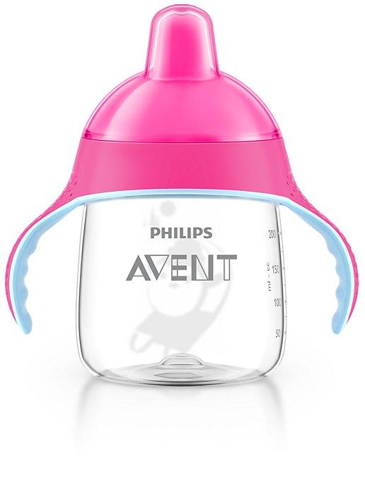 AVENT Κύπελλο με λαβές 260ml (ροζ) 12M+ SCF753/07
