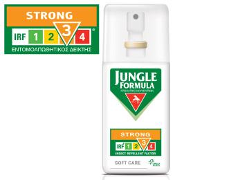 OMEGA PHARMA JUNGLE FORMULA Strong Care Spray με IRF3 75ml