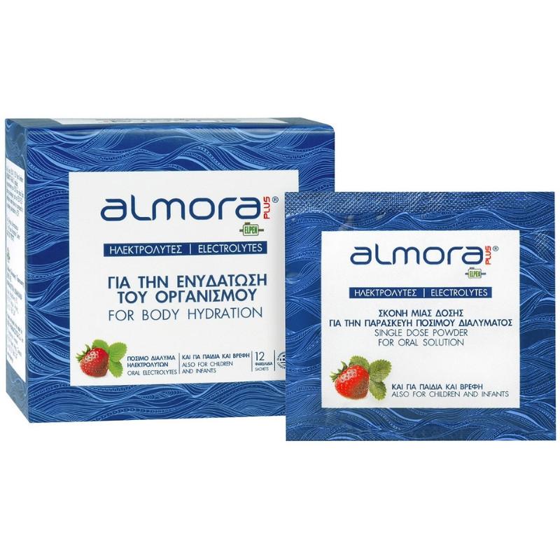 Almora PLUS sachet – Ηλεκτρολύτες για την Ενυδάτωση του Οργανισμού – 12 φακελίδια