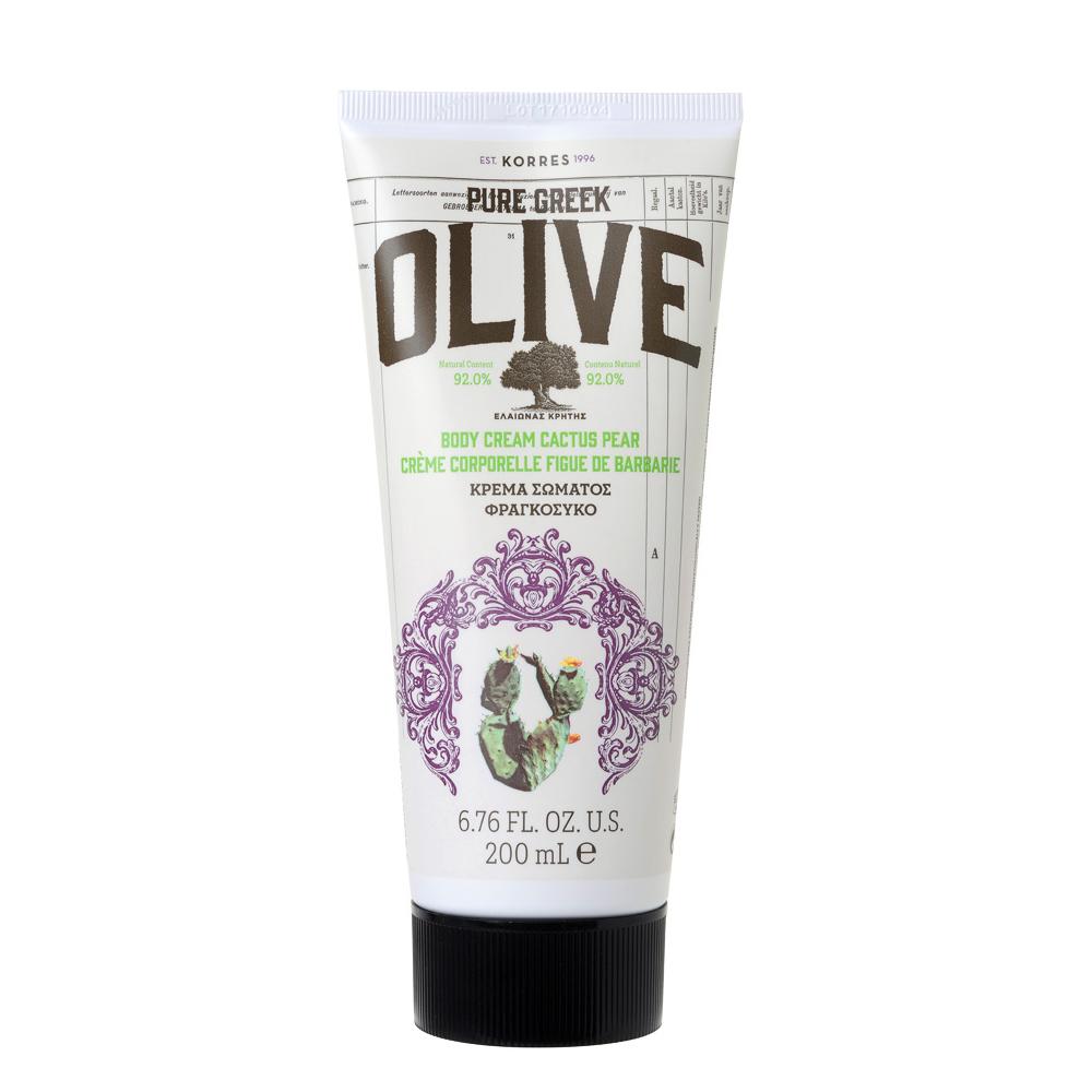Korres Pure Greek Olive Κρέμα Σώματος Φραγκόσυκο 200ml