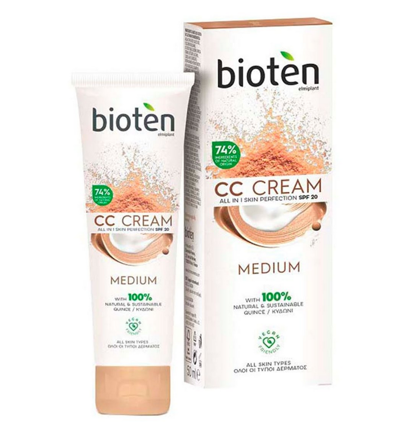 Bioten  CC CREAM MOISTURE MEDIUM 50ML