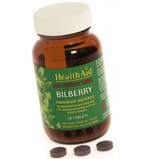 HEALTH AID BILBERRY BERRY EXTRACT TABLETS 30'S
