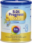 Wyeth S-26 Gold 3 Progress (από 1 έτους) 400g