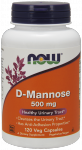 Now Foods D-Mannose 500mg 120 Veget.caps