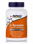 Now Foods L-Tyrosine 750mg - Extra Strenth 90 Veget.caps