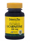 NATURE'S PLUS L-Carnitine 300mg 30vcaps