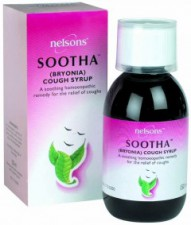 NELSONS SOOTHA COUGH SYRUP 150ML
