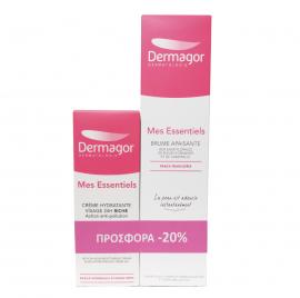Inpa Dermagor Mes Essentiels Cream Riche 40ml & Dermagor Mes Essentiels Brume Apaisante 200ml