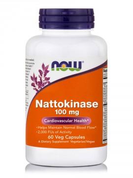 Now Foods Nattokinase 100mg 60 Veg.Caps.
