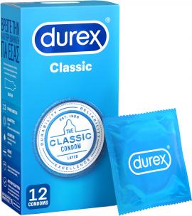 Durex Classic Προφυλακτικά 12τμχ