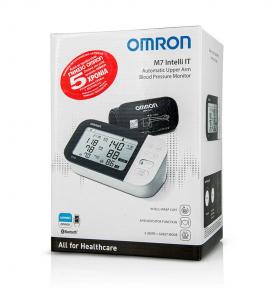 Omron M7 Intelli IT Έξυπνο Πιεσόμετρο Μπράτσου με Ανίχνευση Κολπικής Μαρμαρυγής 1τμχ (HEM-7361T)