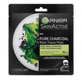 Garnier Skin Active Pure Charcoal Black Tissue Mask 28gr