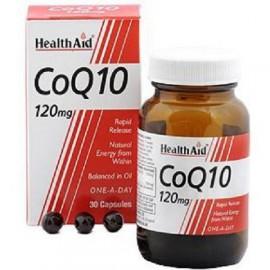 HEALTH AID COQ-10 120MG CAPSULES 30S