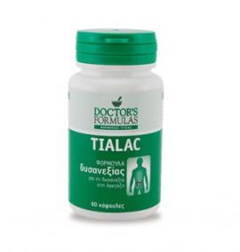 Doctors Formulas Tialac - Φόρμουλα Δυσανεξίας Στη Λακτόζη 60 κάψουλες