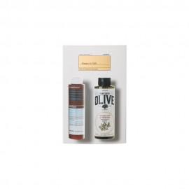 Korres Set Happy To Gift Αφρόλουτρο Pure Greek Olive 250ml + Γαλάκτωμα για Μετά το Ξύρισμα Calendula & Ginseng 200ml