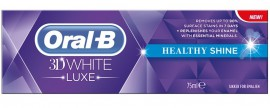 ORAL-B 3D WHITE LUXE HEALTHY SHINE 75ML