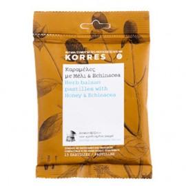 Korres Καραμέλες με Μέλι & Echinacea, 15 παστίλιες