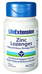 Life Extension Zinc Lozenges 60caps